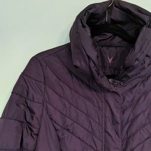 FUCHS & SHMITT Daune Quilted Coat Purple 10